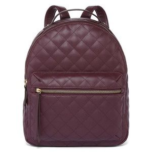❥ Liz Claiborne Raquel Mini Backpack in MAROON